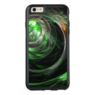 En todo el mundo arte abstracto verde funda otterbox para iPhone 6/6s plus