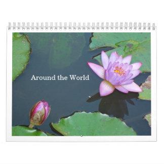 En todo el mundo calendario