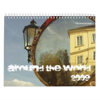 En todo el mundo calendario 2009