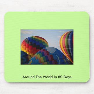 En todo el mundo en 80 días tapetes de ratón
