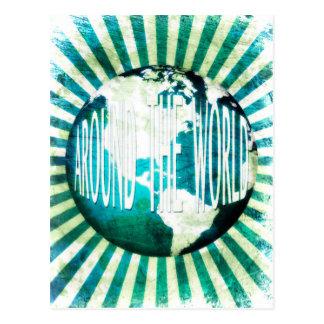en todo el mundo: explosión del globo postal
