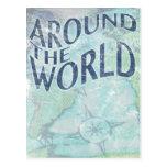 en todo el mundo: página del pasaporte postal