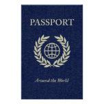 en todo el mundo: pasaporte tarjeton