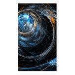 En todo el mundo tarjeta de visita del arte abstra