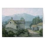 En Ullswater, el Cumberland, 1791 Tarjeta De Felicitación