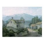 En Ullswater, el Cumberland, 1791 Tarjetas Postales