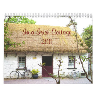 En un calendario irlandés de la cabaña 2011
