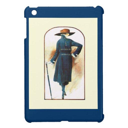 En un humor azul iPad mini cárcasa