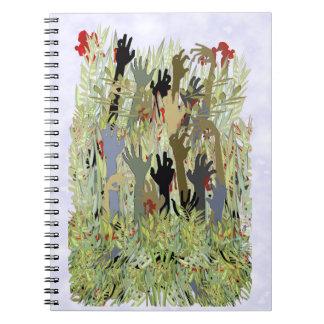 En un jardín del zombi note book