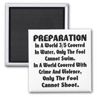 En un mundo cubierto en crimen y violencia imán cuadrado