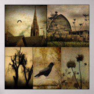 En un mundo gótico posters