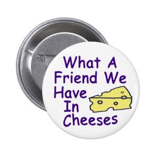 En un qué amigo tenemos… (el botón) pin redondo de 2 pulgadas