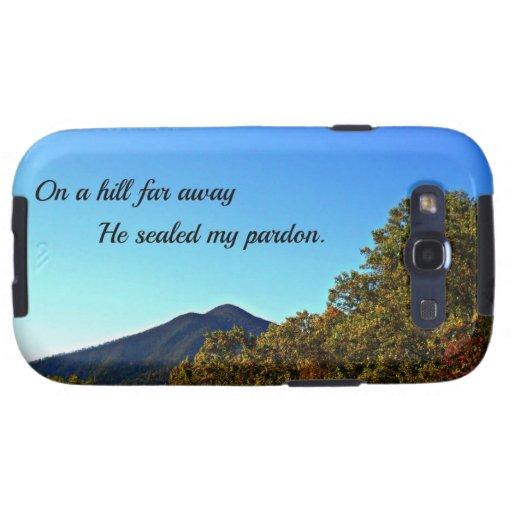En una colina lejos, él selló mi perdón galaxy SIII funda