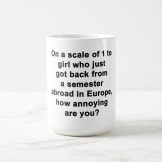 En una escala de 1 a… taza