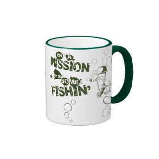 En una misión para hacer un poco de taza de Fishin