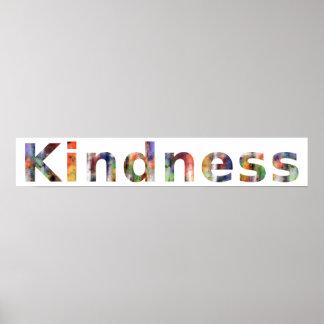 En una palabra: Amabilidad Posters