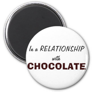 En una relación con el chocolate imanes para frigoríficos
