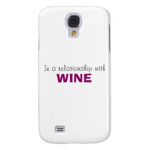 En una relación con el vino