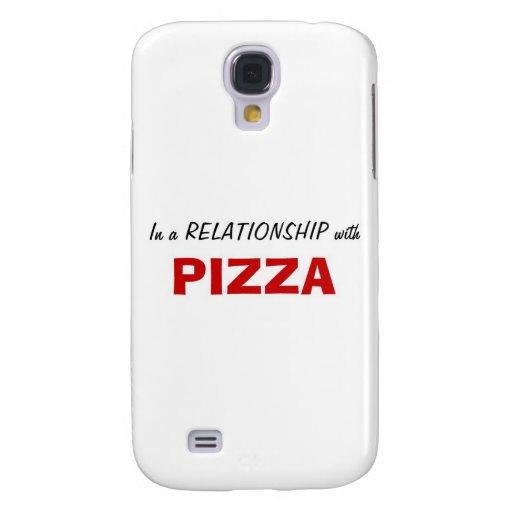 En una relación con la pizza