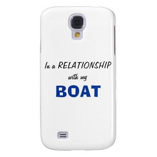 En una relación con mi barco