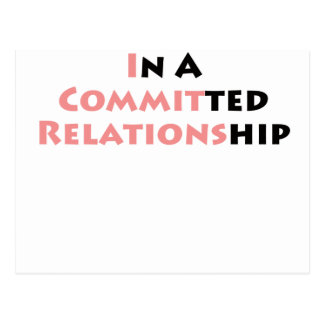 ¿En una relación confiada? Postal