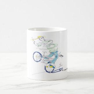 En una vuelta (color) taza clásica