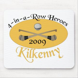 En-uno-Fila de Kilkenny 4 conmemorativa Alfombrillas De Ratones