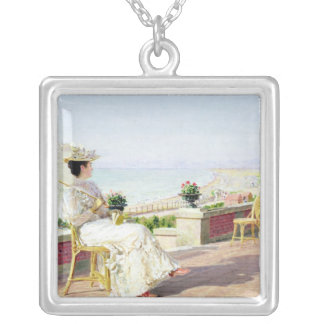 En Vacance Silver Plated Necklace