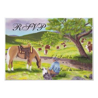 En vaquero del ~ del país de dioses y pastor comunicado