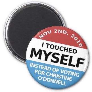 … En vez de la votación por Christine O'Donnell Iman De Nevera