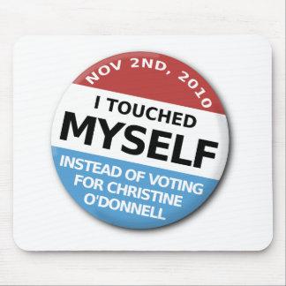 … En vez de la votación por Christine O'Donnell Mousepad