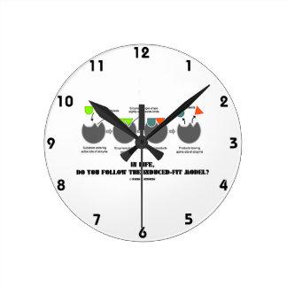 ¿En vida, usted sigue el modelo del Inducir-Ajuste Relojes