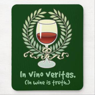 En vino es la verdad mousepad