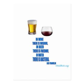En vino… tarjetas postales