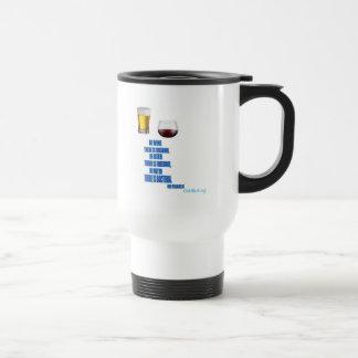 En vino… tazas