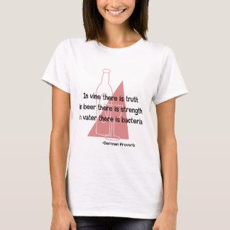 En Vino Veritas -retro T-Shirt