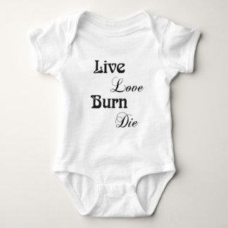 en vivo y en directo, love, burn, aquellos remeras