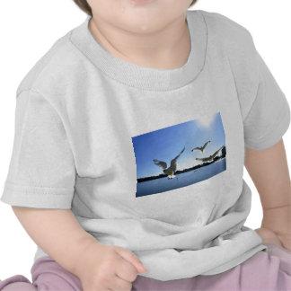 En vuelo camiseta