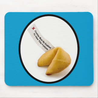 Enable Fortune Cookies Mousepads