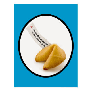 Enable Fortune Cookies Postcard