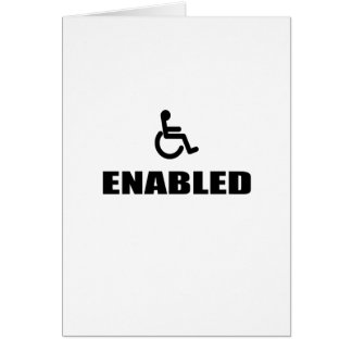 enabled card