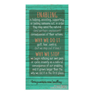 Enabling Definition, Why Do It, Why Stop Poster