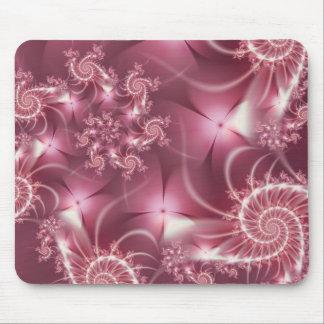 Enaguas rosadas alfombrilla de ratones