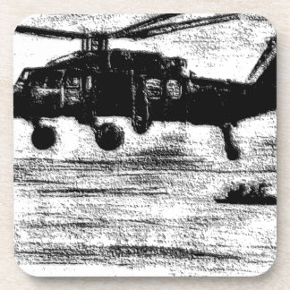 Enamel-Chopper Coaster