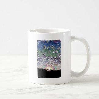 Enamel Setting sun Mug