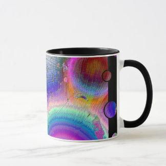 Enamel Sunburst Fun Frame Mug