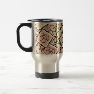 Enamel Tile Om (Aum) Mugs
