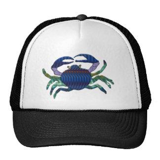 Enameled Blue Crab Trucker Hat