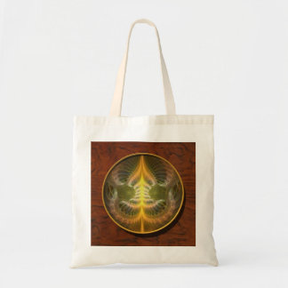 Enameled Brass Tray Tote Bag