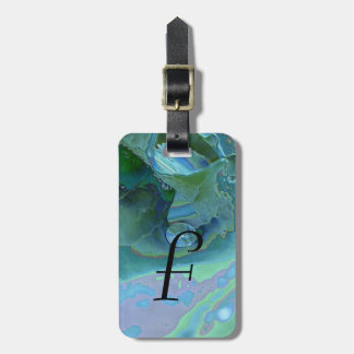 Enameled Dew Drop Tag For Bags